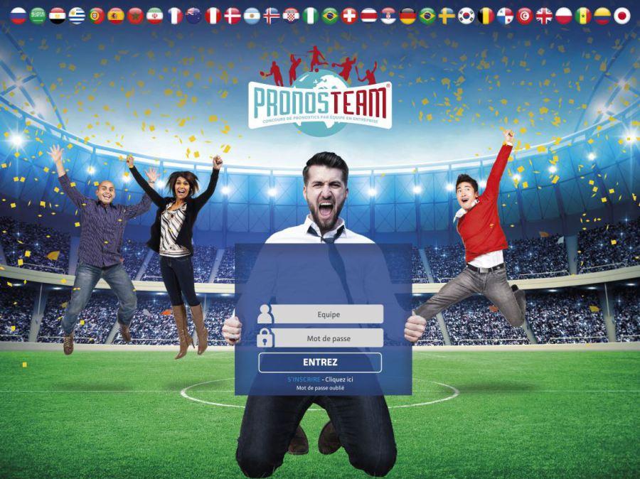 Concours de pronostics entreprise Team building rugby foot basket... coupe du monde euro